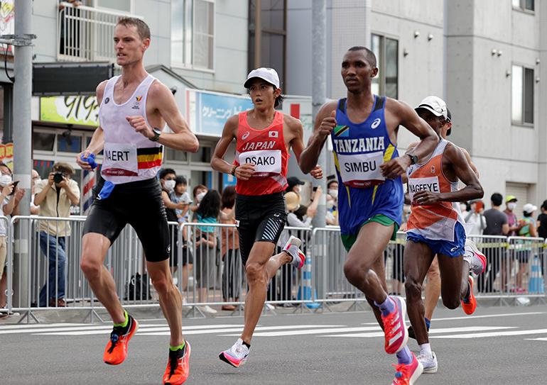 写真で振り返る東京五輪『大迫傑が男子マラソン6位入賞』