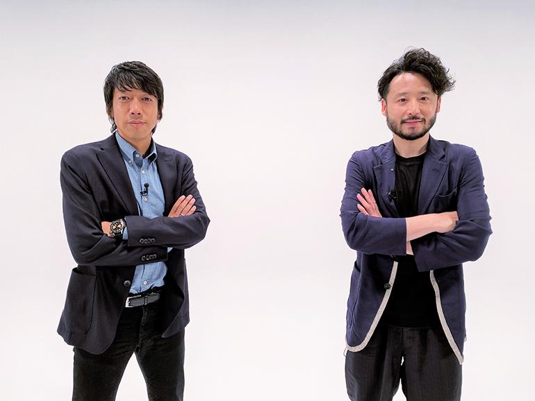 元サッカー日本代表・中村憲剛さんと、日本人初のNBAプレーヤー田臥勇太さんの「CROSSTALK 」