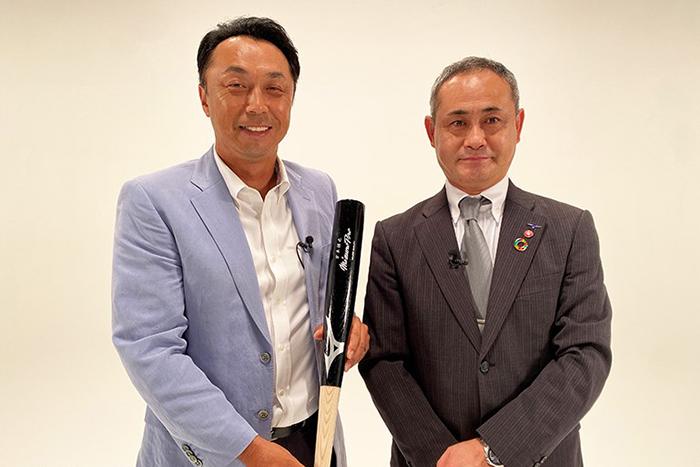 宮本慎也さんと名和民夫さんの「CROSSTALK 」